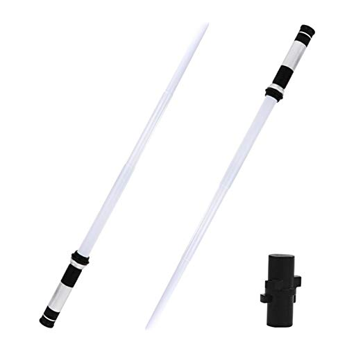 Werry Light Up Saber,Saber Lightsaber,LED Light Saber,2 Pack Telescopic Extendable and Collapsable Laser Sword | 2-in-1 LED,Retractable and Foldable Saber Wonderfully