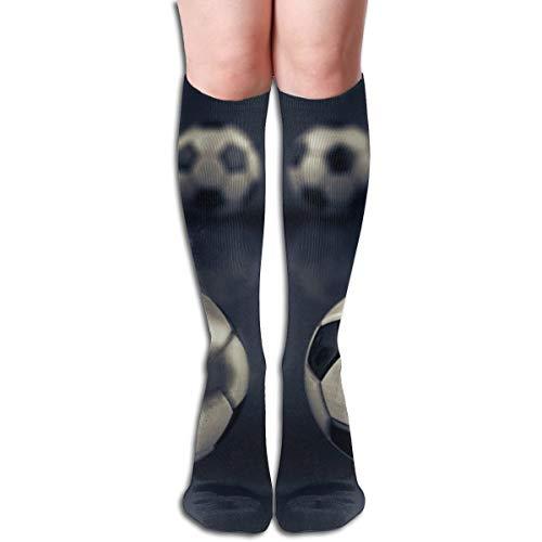 Bolas de fútbol con arena tormenta calcetines casuales mujeres y hombres caliente grueso fresco colorido deporte calcetines de compresión