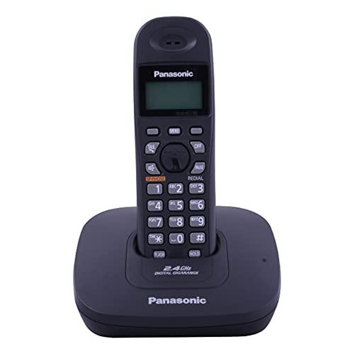 Panasonic Single Line Digital Cordless Telephone, Black