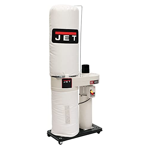 JET DC-650BK Dust Collector with 30-Micron Bag Filter Kit (708642BK)