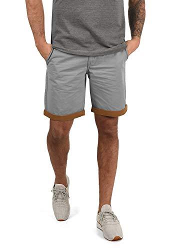 BLEND Neji - pantalón corto para hombre, tamaño:XL;color:Aluminium (70107)