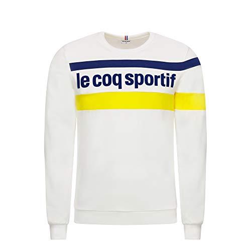 Le Coq Sportif ESS Saison Crew Sweat N°1 M N.o.w/Blue D - Sudadera Hombre