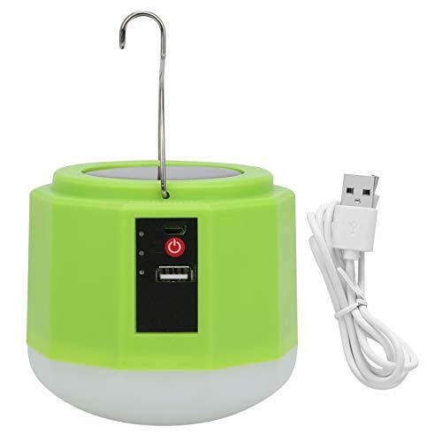 Stromkreisschutz Solarstromleuchte, Batterie mit großer Kapazität Energiesparendes tragbares LED-Licht für Nachtmarktstände im Freien Camping