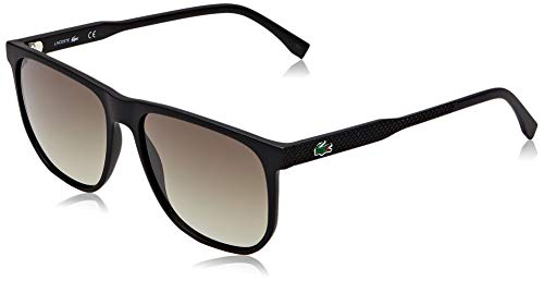 Lacoste Mens L922S Sunglasses, Black, 57mm