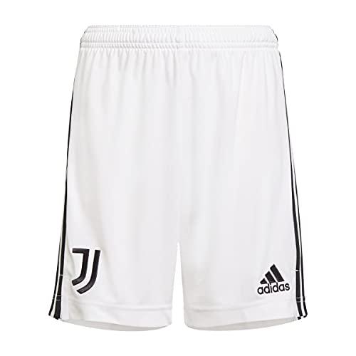adidas Juventus Primera Equipación 2021-2022, Pantalón Corto, White, Talla M