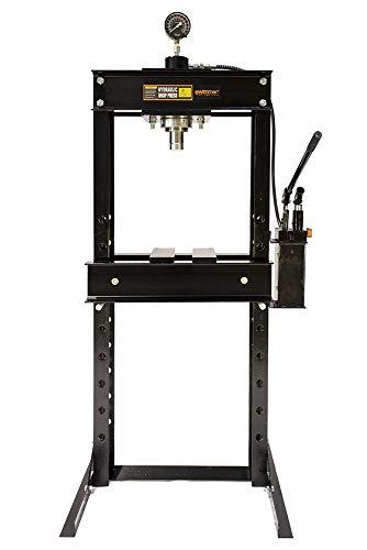 Wimmer Werkstattpresse 30T 30000kg Hydraulikpresse hydraulisch Rahmenpresse Lagerpresse SP30-1