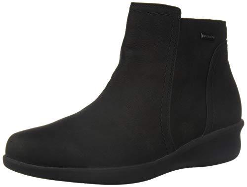 Aravon Women's Fairlee Ankle Boot, Black, 8.5 Wide