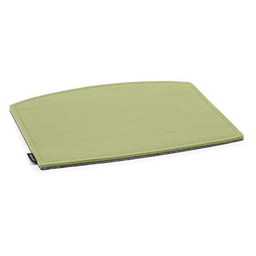 Hey Sign Catifa 46 zitkussen met schuimvulling, pistache vilt 2 x 3 mm LxBxH 42 x 37 x 0,6 cm achterkant antraciet antislip