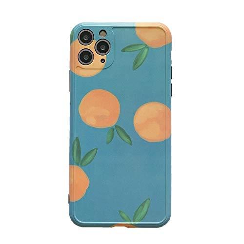 Walker Valentin Caja del teléfono Caja de teléfono Protectora Retro IBHT, para iPhone 11 Pro MAX XR XR XR XS MAX 7 8 Plus X Funda Trasera X Fruit Case, Material : For iPhone XR