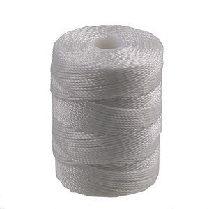 C-Lon Bead Cord, White