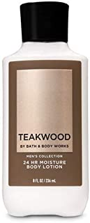 Bath and Body Works, Signature Collection Body Lotion Teakwood For Men, 8 Ounce