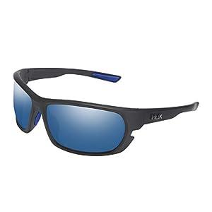 HUK Men's Polarized Panto Sunglasses