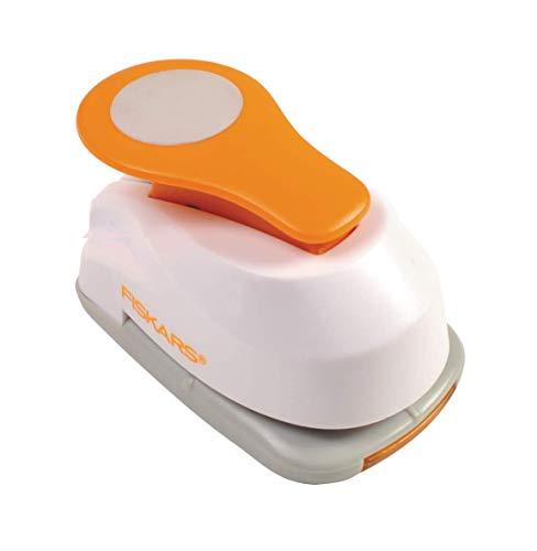 Fiskars Lever Punch Perforatore fantasia, Cerchio, Plastic, S