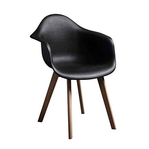TYZXR Silla de Escritorio con Soporte Lumbar, sillas de Comedor de Cocina de Metal Estilo Apenado Interior-Exterior Sillas de café Laterales apilables en Blanco Apenado