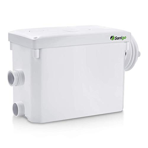 Sanigo SANI-P420i Hebeanlage Abwasserpumpe Leise Haushaltspumpe für Hang Toilette WC 400W