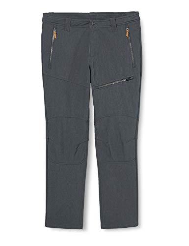 ICEPEAK Herrar EP AHLEN softshell byxor, mörk grå, 54
