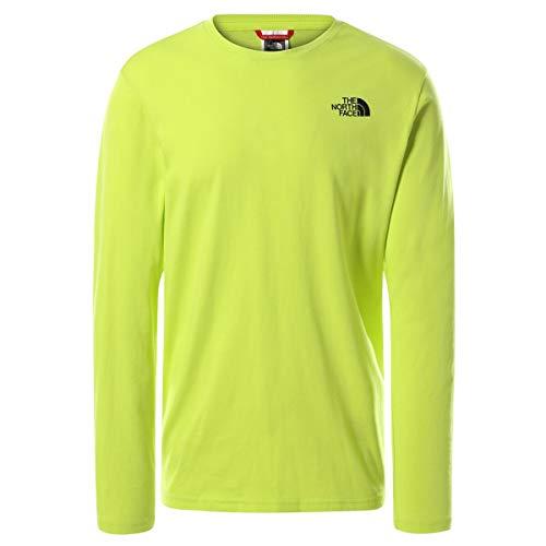 The North Face Men's L/S Easy tee - Camiseta para Hombre S. Green M