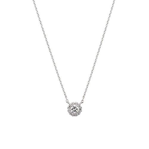 [ヴァンドーム青山] VENDOME AOYAMA Pt950 プラチナ ダイヤモンド 0.19ct グレース ネックレス APVN146740DI