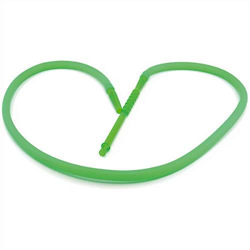 hookah Atomic Wasserpfeife/Shisha Silikon Schlauch - 180cm lang, (grün)