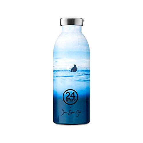 Preisvergleich Produktbild Isolierte Trinkflasche 'Clima Bottle Reef Collection' aus Edelstahl 500 ML,  Farbe:Escapist