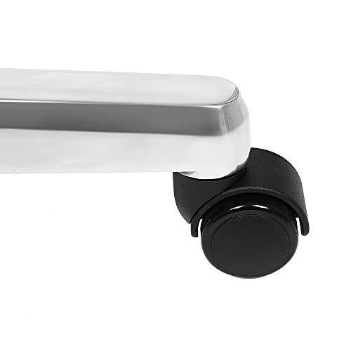Erstellt von SONGMICS, Luxus Bürostuhl mit klappbarer Kopfstütze ausziehbarer Fußablage extra großer orthopädischer Chefsessel ergonomischer Gaming Stuhl schwarz OBG75B