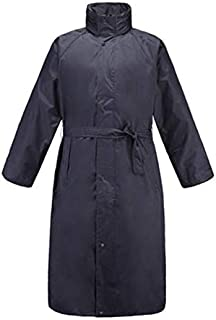 Poncho Raincoat Outdoor Adult Men and Women Raincoat Casual Windbreaker Raincoat (Color : Navy, Size : XL)