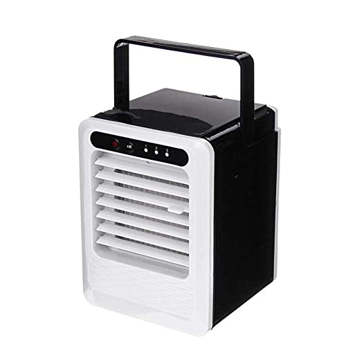 DFJU Ventilador de ar condicionado Resfriador de ar Mini Modo de três engrenagens Ventilador de resfriamento de verão Ar condicionado portátil USB Umidificador de Mesa purificador