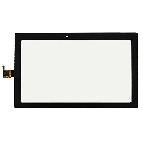 Liluyao Partes móviles Asamblea de digitizador de Pantalla táctil For Lenovo Tab 2 A10-30 X30F (Color : Black)
