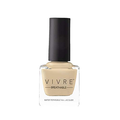 VIVRE Cosmetics Certified Breathable - Water Permeable - Oxygen Permeable - Halal Nail Polish: Bare and Bougie