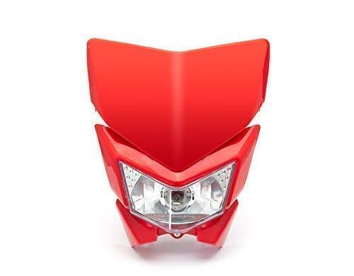 Motorfiets Koplamp - Streetfighter & Supermoto - Rood - 12V 35W