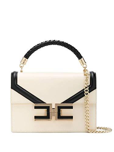 Elisabetta Franchi Luxury Fashion Donna BS38A01E2E84 Beige Poliuretano Borsa A Mano   Primavera-estate 20
