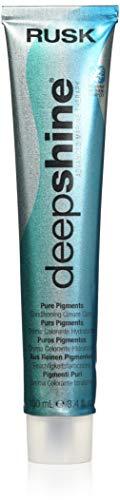 RUSK Deepshine Pure Pigments Conditioning Cream Color, 6.11AA, Intense Ash Blonde, 3.4 oz