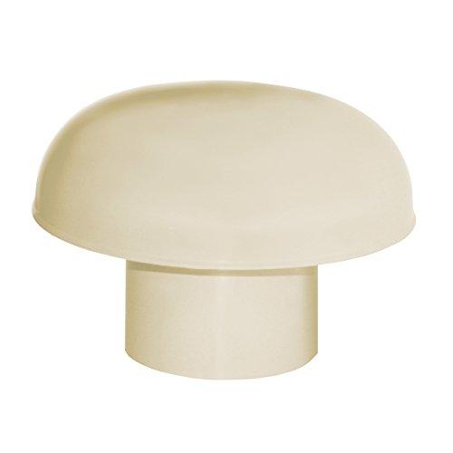 - Ventilation toiture - Chapeau de ventilation PVC sans moustiquaire - Sable