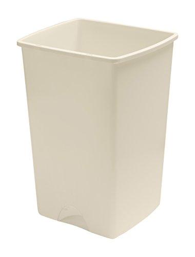Cubo de basura sin tapa, 50L, Linen-Cream