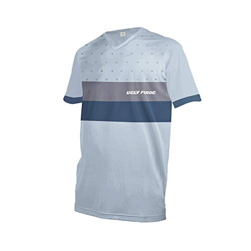 Uglyfrog Herren Kurzarm Fahrradtrikot Mountainbike Trikot MTB Bike Shirts,Feuchtigkeitsableitendes T-Shirt