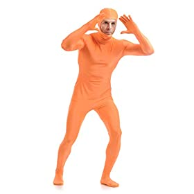 ALOVEY Unisex Open Face Full Bodysuit Stretch Tights Lycra Spandex Zentai Suit