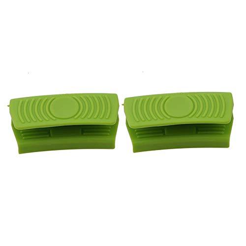 ZXYAN Solución para Hornear agarraderas para Hornear 2 Piezas de Silicona Titular de Olla Mini Horno Guante Cocina Pinzas apretones Cocina Resistente al Calor