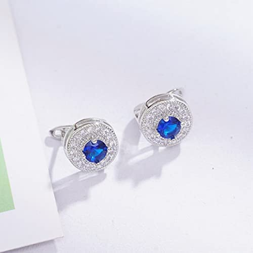 25 Styles Choose CZ Earrings Wholesale Small Circle Hoop Earings for Women Lovely Girls Gifts Jewelry