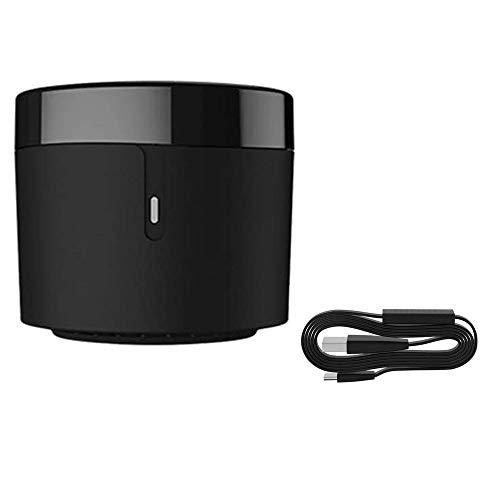 Broadlink RM4 Mini telecomando IR intelligente WiFi Lavora con Alexa/Google Home Smart Home Automation + HTS2 Sesnor Cavo USB Rilevatore di temperatura e umidità