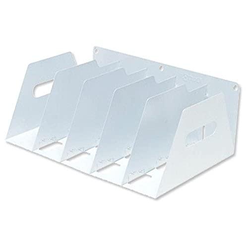 Rotadex Ordner-Belegfach (tragbar, stabil, Metall, BxTxH 425 x 300 x 160 mm) weiß