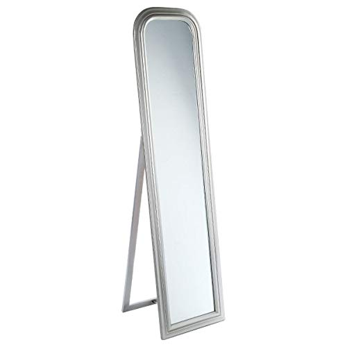 ATMOSPHERA Standspiegel Adele, 40x160 cm, Farbe Silber, Farbe:Silber