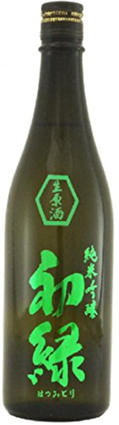 担当者オリエントインスタント初緑 純米 吟醸 無濾過生原酒(緑ラベル)720ml