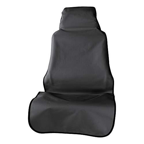 ARIES 3142-09 Seat Defender 58-Inch x 23-Inch Black Waterproof Universal Bucket Car Seat Cover Protector
