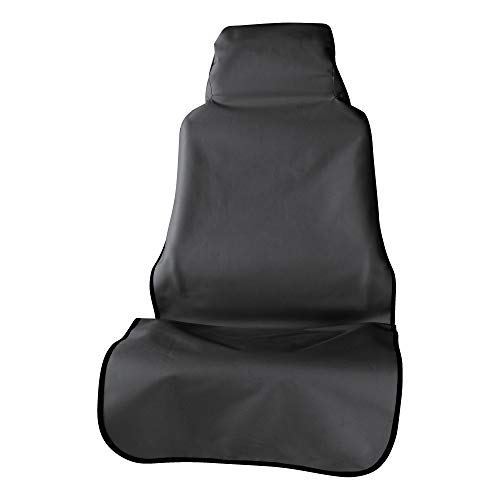 ARIES 3142-09 Seat Defender 58-Inch x 23-Inch Black Universal Bucket Car Seat Cover Protector