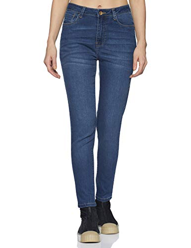 Flying Machine Women's Skinny Fit Jeans (FWFLJN69_ Indigo_ 28)