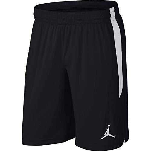 Nike Herren M J 23ALPHA Dry Knit Short Sport, Black/White/White, XS