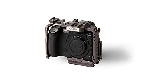 Tiltaing Full Camera Cage for GH Series - Compatible with Pansonic GH4 / GH5 /GH5S + More (Tilta Gray)
