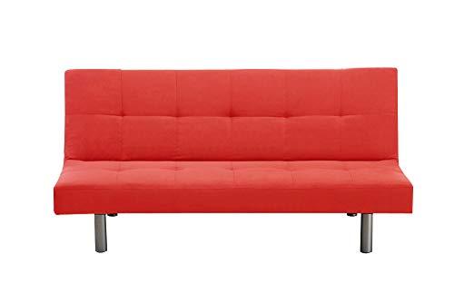 Mueblix Sofa Cama garray (Rojo)