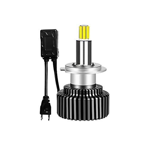 YUANKAIBIANHUODIAN H11 H1 H7 Bombilla de Faros LED para Auto Mini 9012 9005 9006 H8 H9 H4 Luces de Coche HB4 HB3 Lámparas 360 Super 500 0K 6000K 8000K