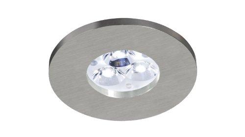 Bpm Lighting 3005 Spot rond encastrable en aluminium adapté aux environnements humides Protection IP65